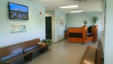 picture of Old York Veterinary reception area